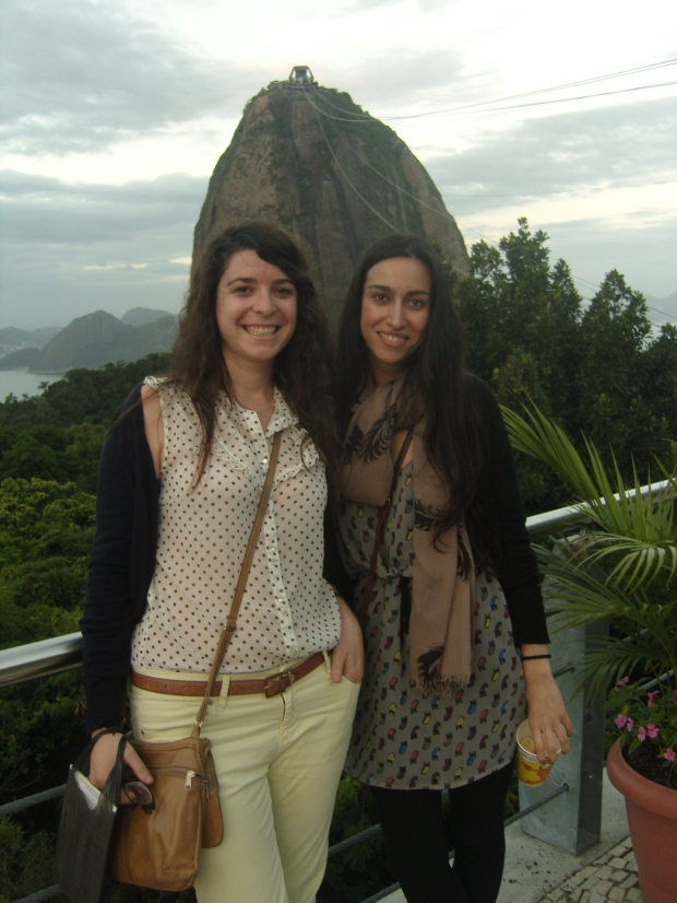 Con Rebeca en Rio de Janeiro.