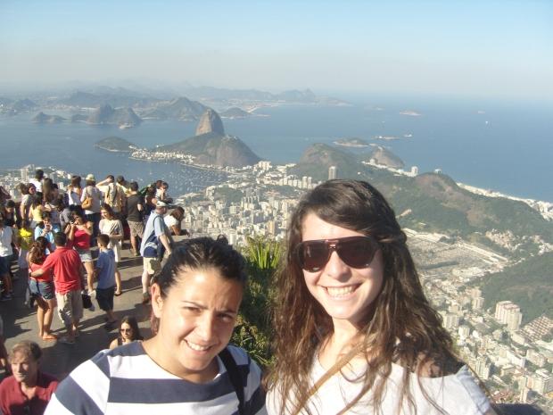Con Mireia en Rio de Janeiro.