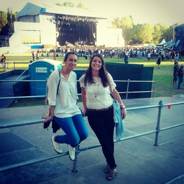 Dcode Festuval con mi gran compañera de festivales!