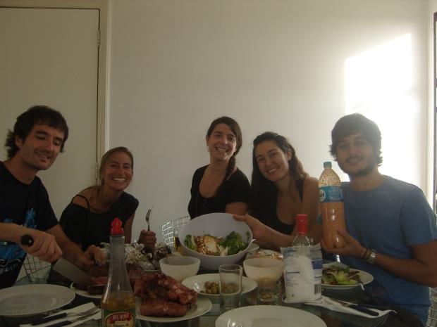 Comidas a la española en Brasil.
