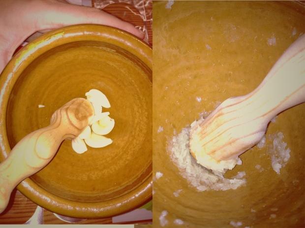 La cantidad de ajo a añadir depende de lo que os guste su sabor fuerte y picante.