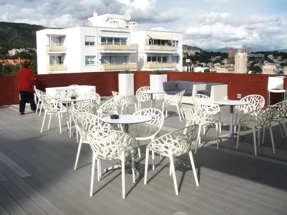 Hotel Barceló Mallorca.Terraza.