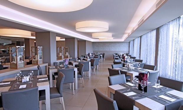 Comedor hotel Java Mallorca.