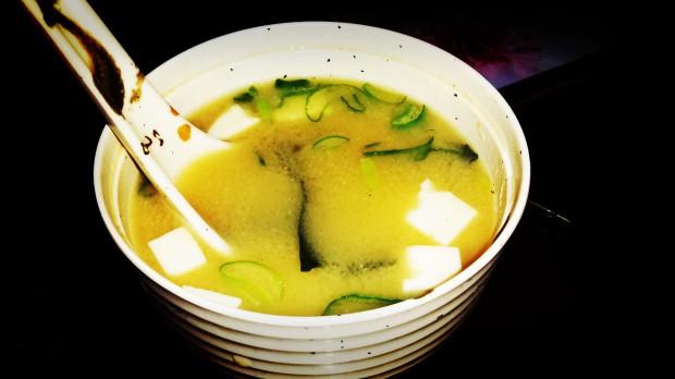 Japonés Benidorm  sopa de miso.