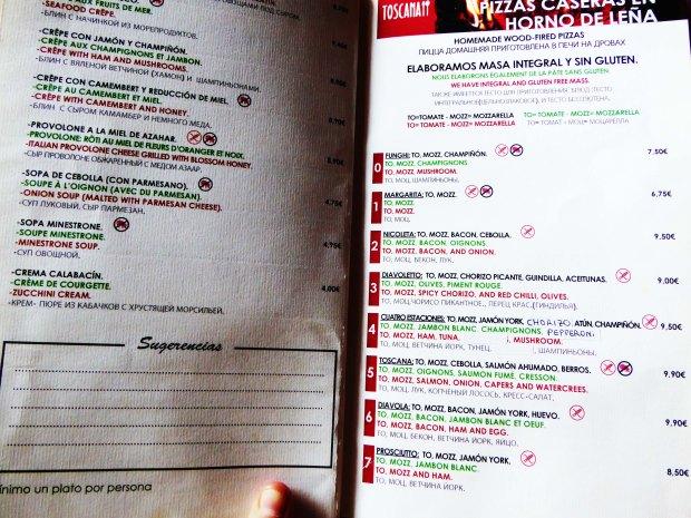 Restaurante Pizzería Benidorm.
