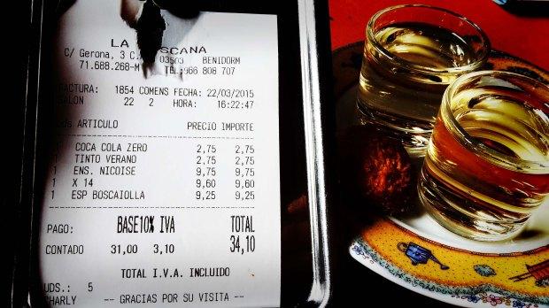 Restaurante Pizzería Benidorm, La Toscana.