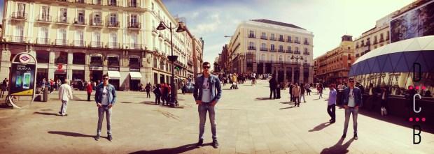 Fin de semana en Madrid,Puerta del Sol.