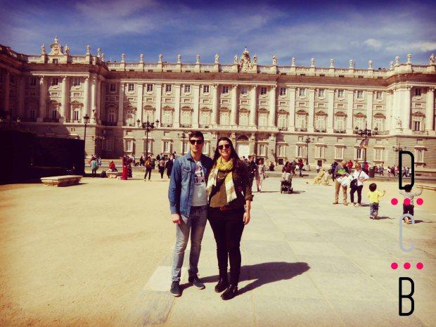 Fin de semana en Madrid, Plaza de Oriente.