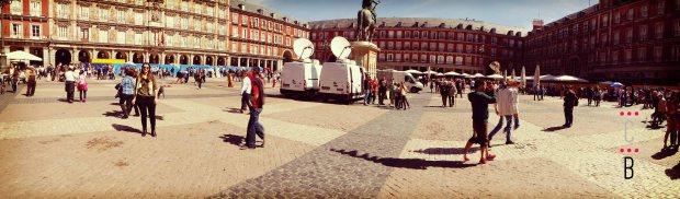 Fin de semana en Madrid , La Plaza Mayor.