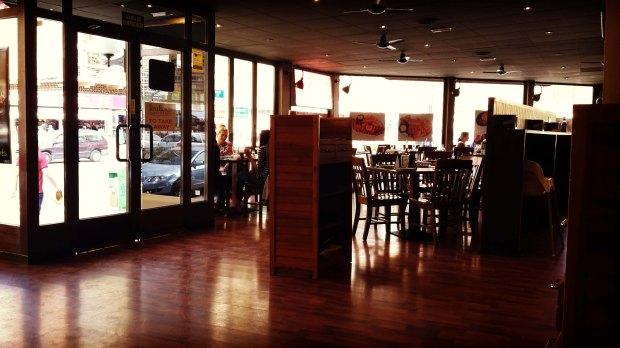 Restaurante en Benidorm Tony Romas, el local.