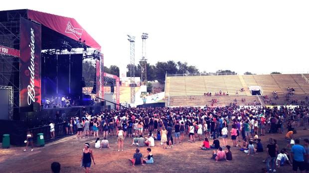 Low festival 2015 Benidorm , Nacho Vegas.