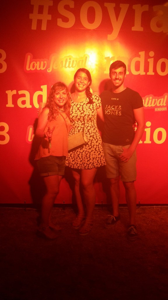 Low festival 2015 Benidorm, Radio 3.
