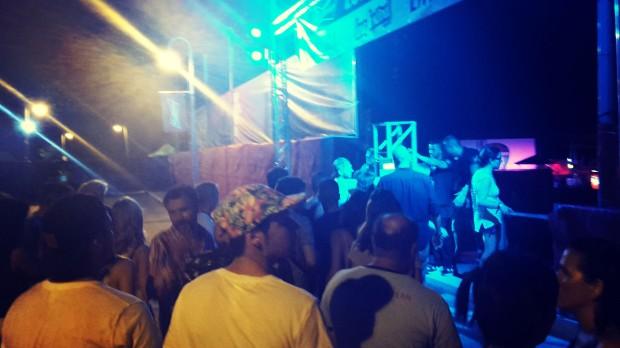 Low festival 2015 Benidorm, zona Vip.