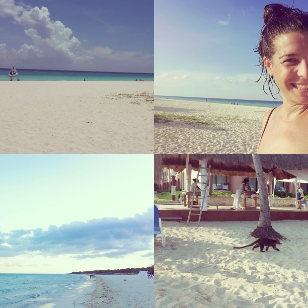 Riviera Maya, playa del hotel Sandos playacar.