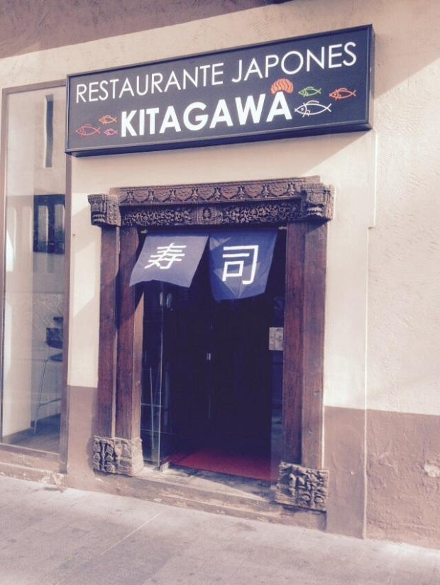 Restaurante japonés Alicante Kitagawa. Fachada del restaurante.