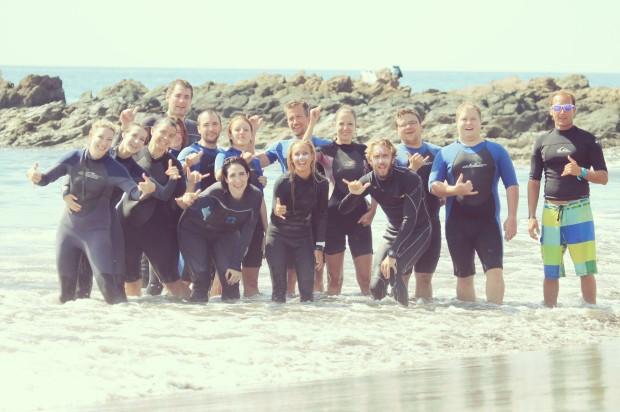 Surf en Maspalomas.