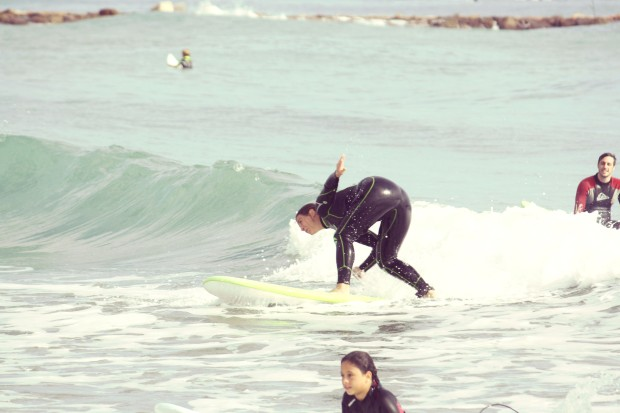 Surf en Campello.