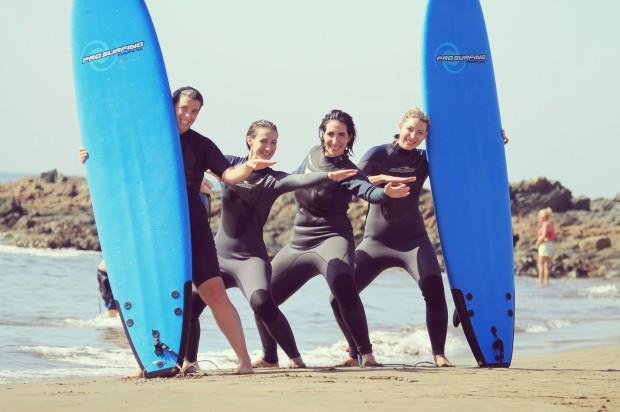 Surf en Gran Canarias.