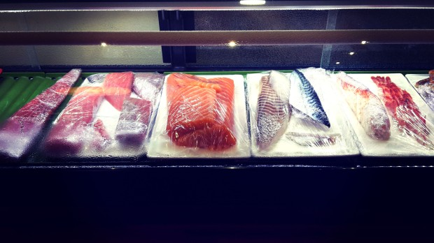 Restaurante japonés Alicante, pescados.