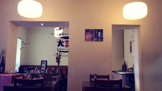 Restaurante japonés Alicante, interiorismo.