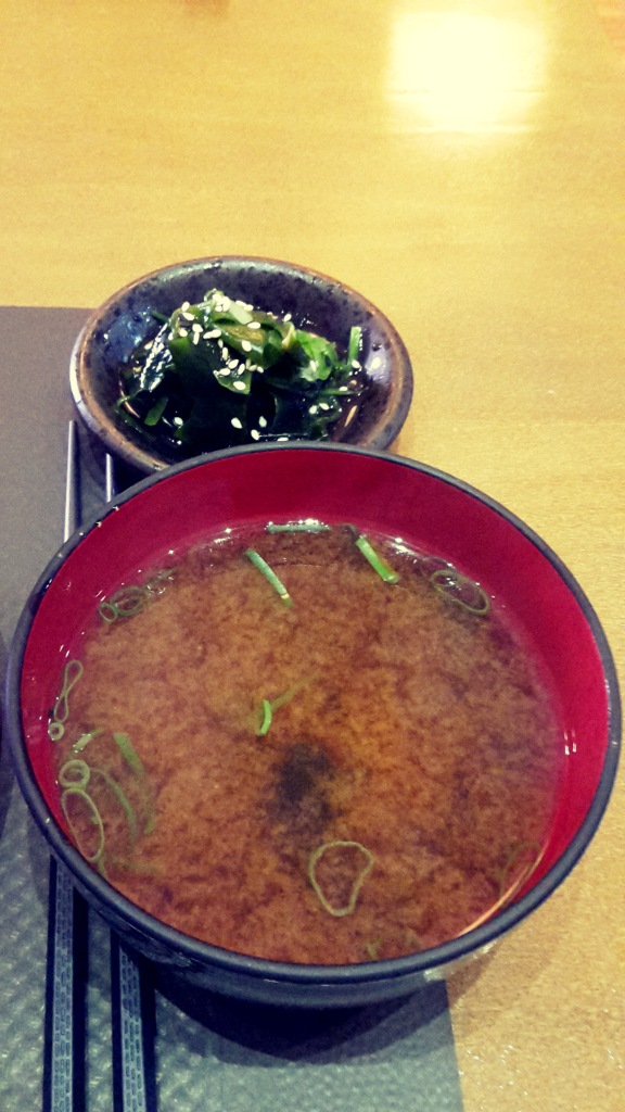Restaurante japonés Alicante , menú para completar.