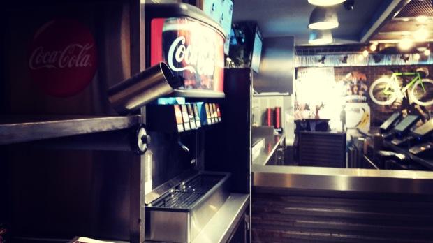 TGB fast food in Benidorm .