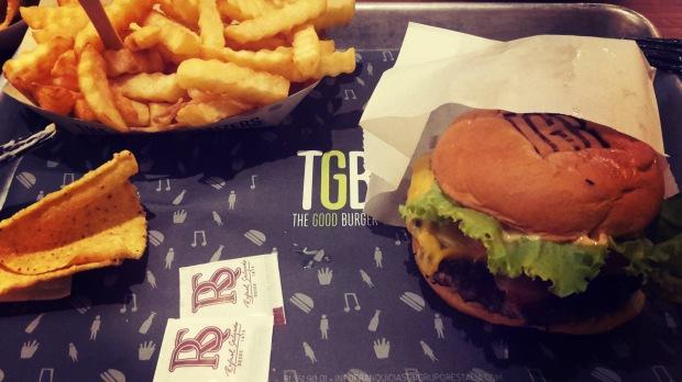 TGB fast food in Benidorm