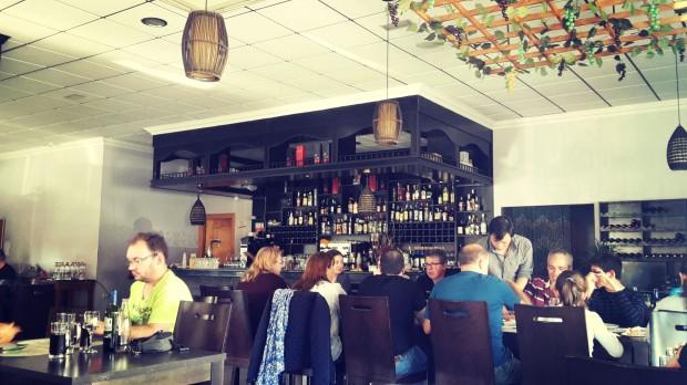 Restaurante Meluka Albir, interior