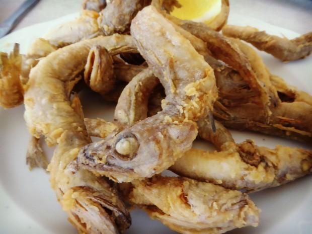 Restaurante Modestro Finestrat , pescadito frito.