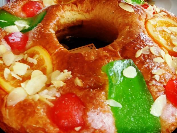 Restaurante Modestro Finestrat, roscón de Reyes.