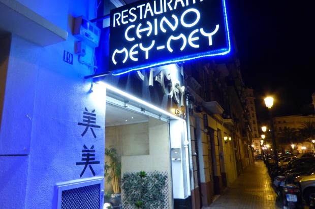 Valencia, restaurante chino Mey-Mey.