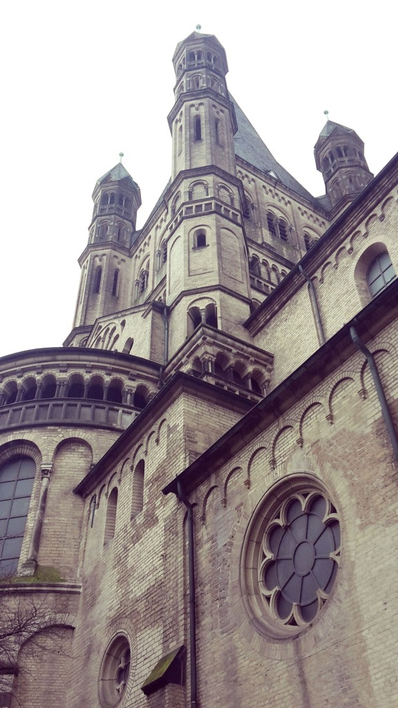 Viaje a Colonia Alemania ruta iglesias románicas.
