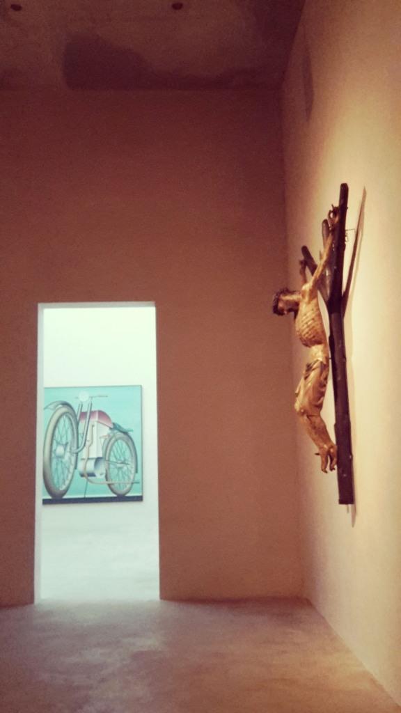 Viaje a Colonia Alemania Interior del Kolumba Art Museum