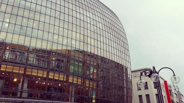 Viaje a Colonia AlemaniaCentro comercial del centro de Colonia