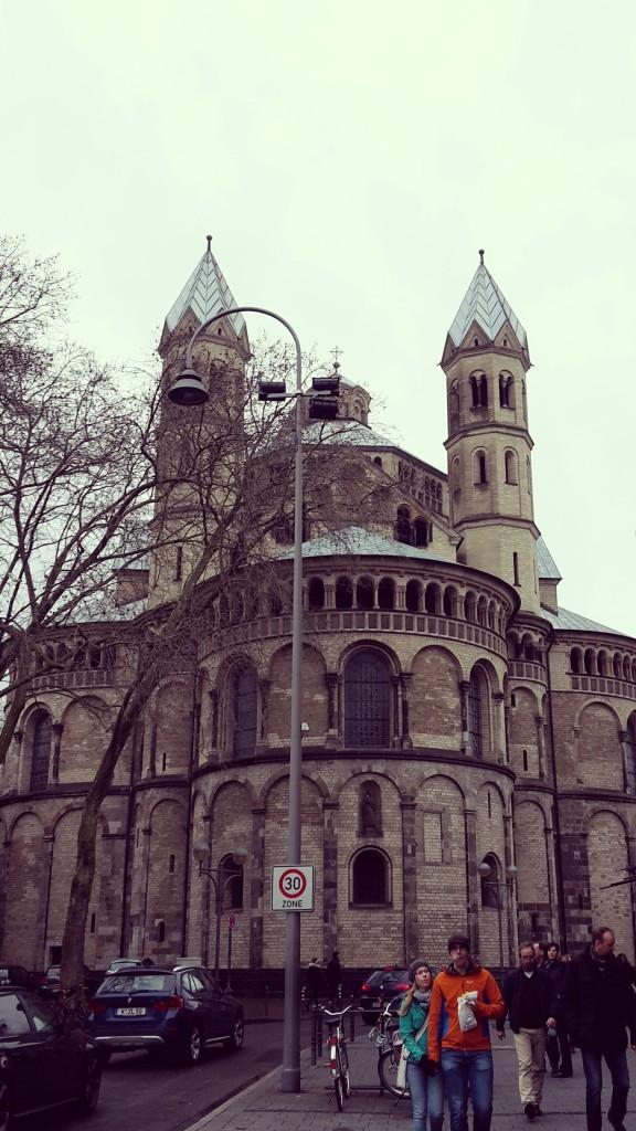 Viaje a Colonia Alemania St. Apostein
