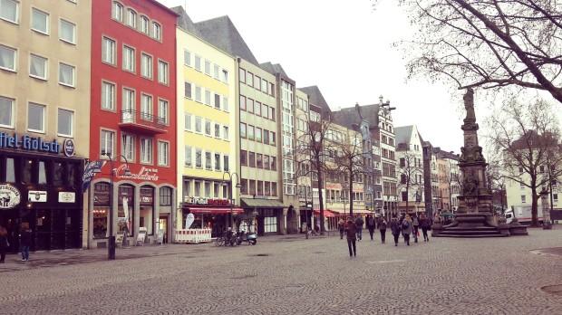 Viaje a Colonia Alemania Fischmarckt