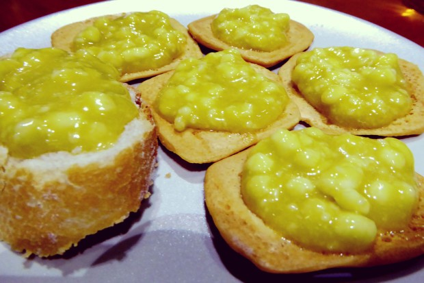 Crema de queso rey Cabra.