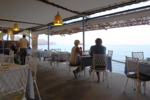 Chiringuito el Cranc Altea, el restaurante.