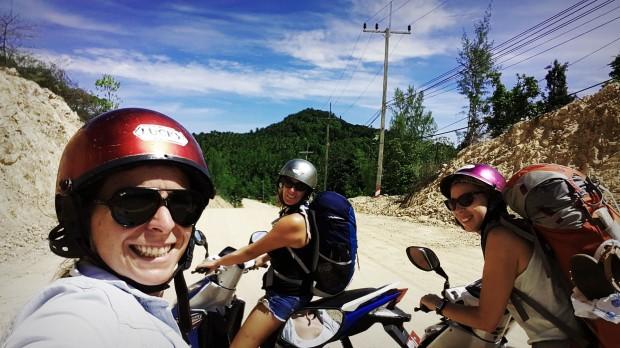 Viaje a Tailandia, alquiler de motos.